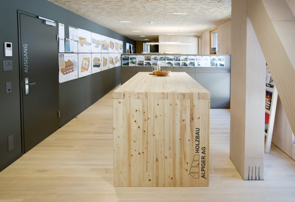 Büroausbau Alpiger Holzbau