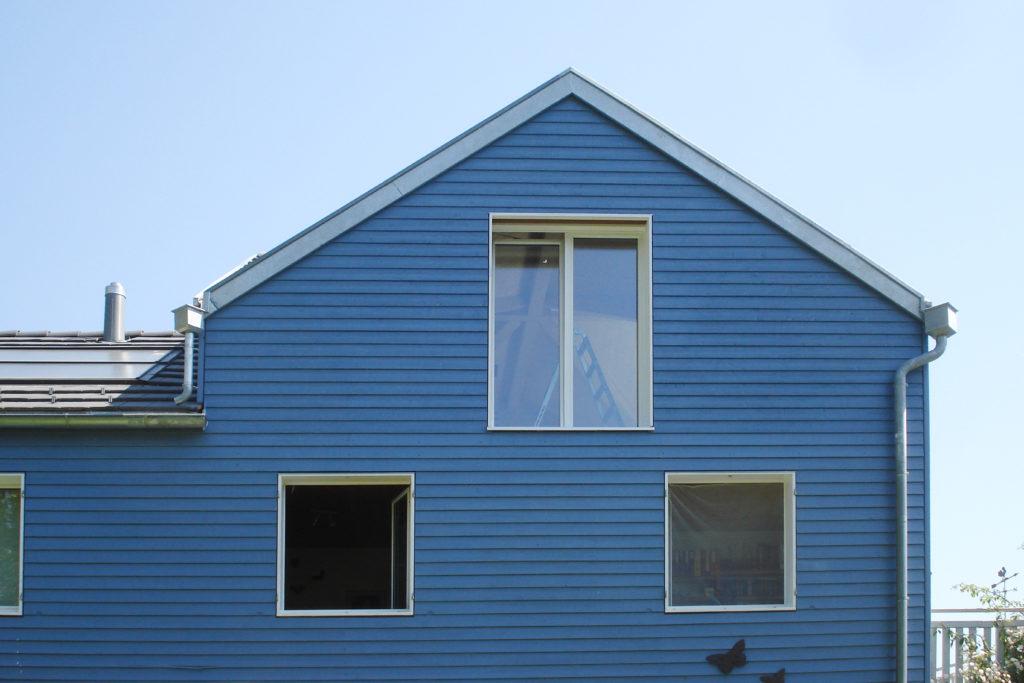 Aufstockung Holzfassade