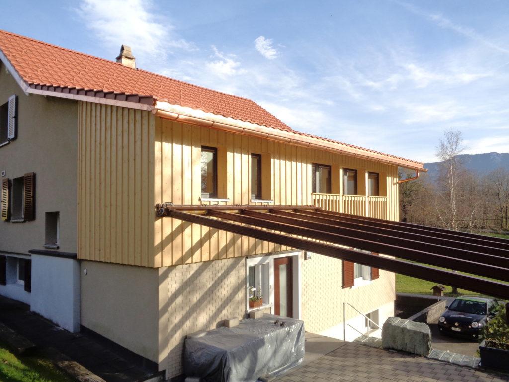 Ausbau Dachgeschoss Aussenansicht