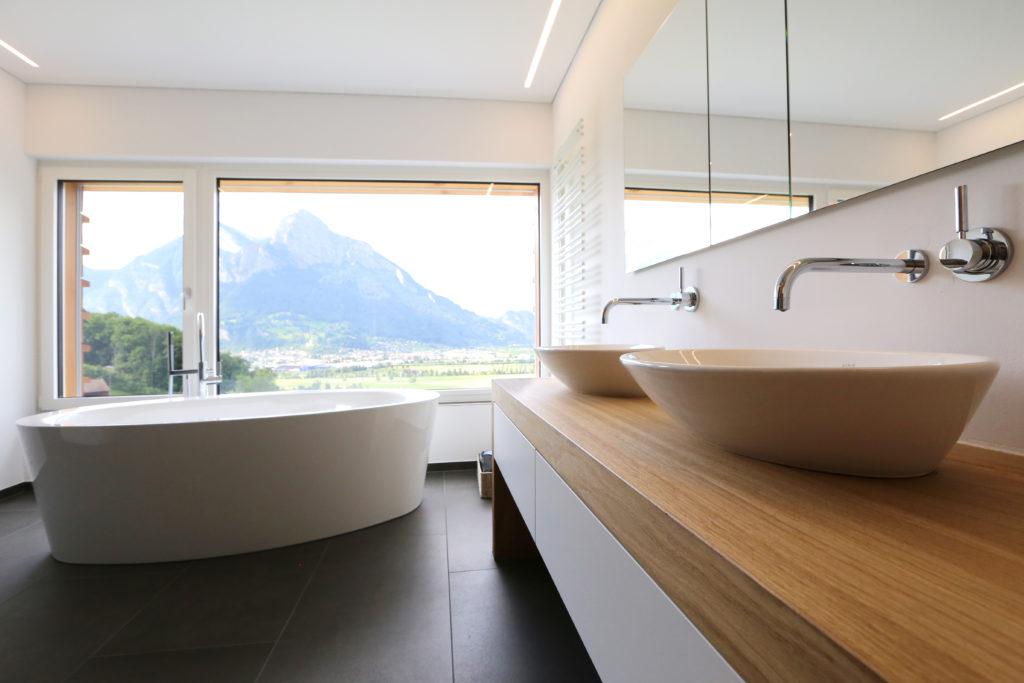 Badezimmer Badewanne Lavabo