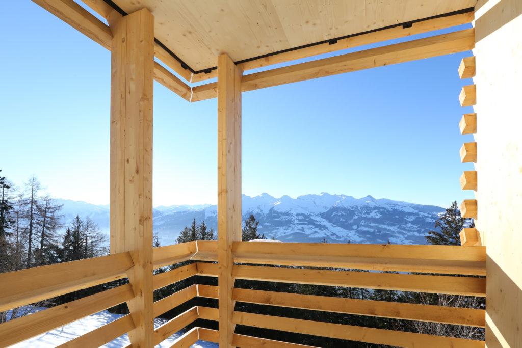 Clinicum Alpinum Balkon