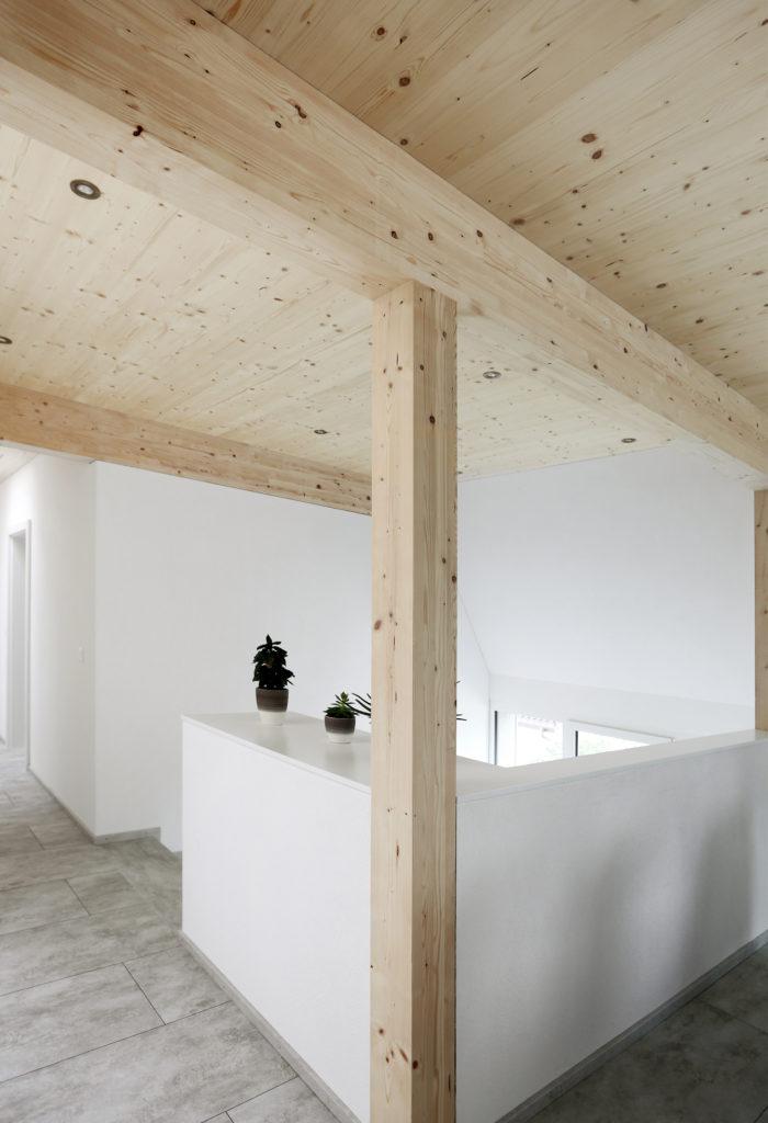 Dachgeschoss Holzbau