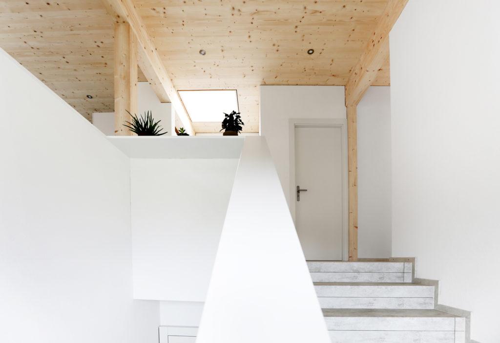 Dachgeschoss Holzbau Dachfenster