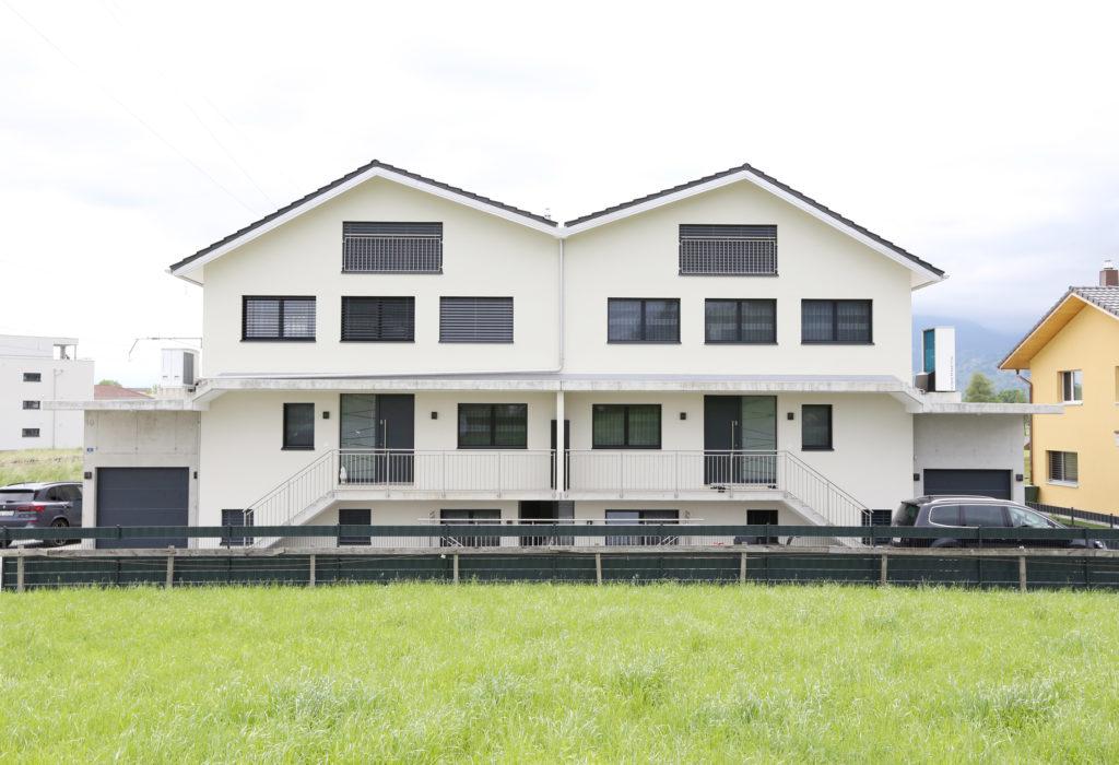 Defh Doppeleinfamilienhaus Aussenansicht