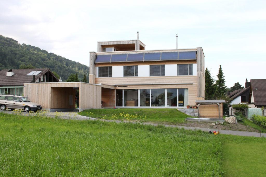 Einfamilienhaus Aussenansicht