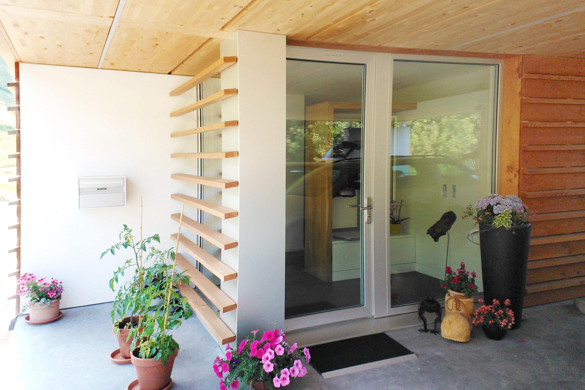 Einfamilienhaus Eingangstuere