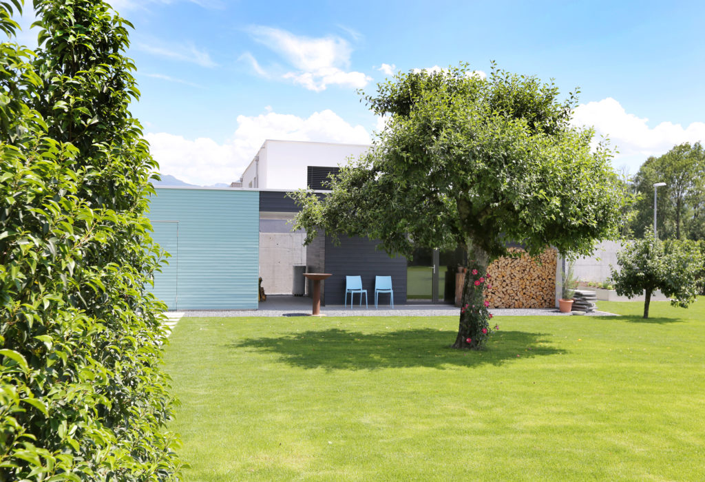 Gartenhaus Holzfassade
