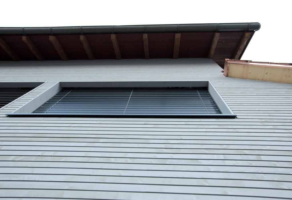 Umbau Aussenansicht Fassade