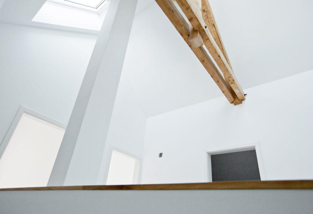 Umbau Dachgeschoss Fenster