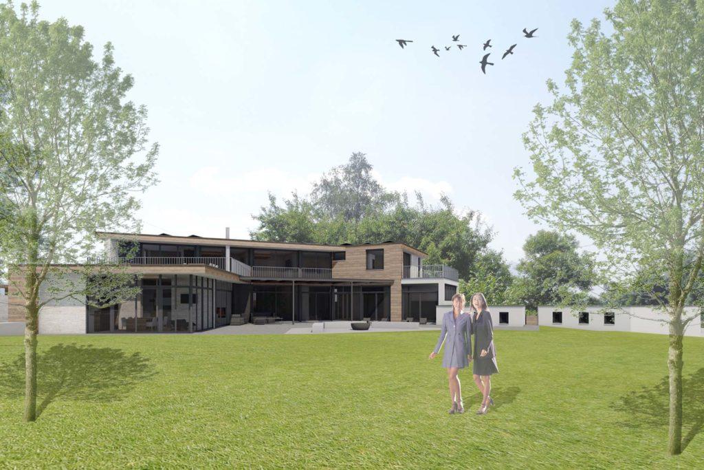 Visualisierung Einfamilienhaus