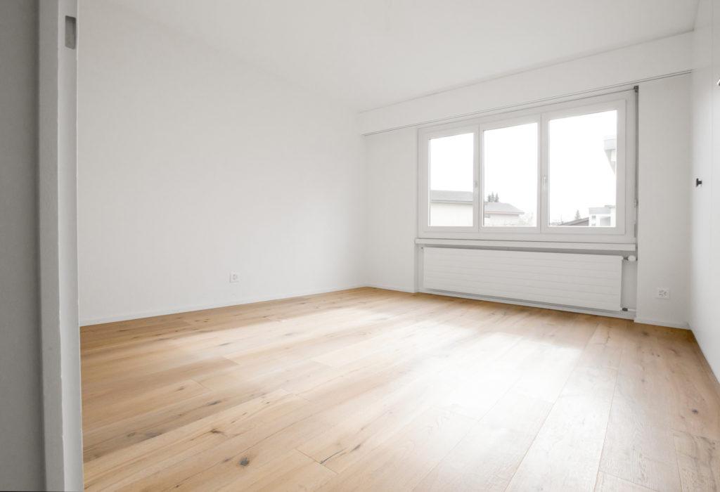 Zimmer Holzdielen Eiche