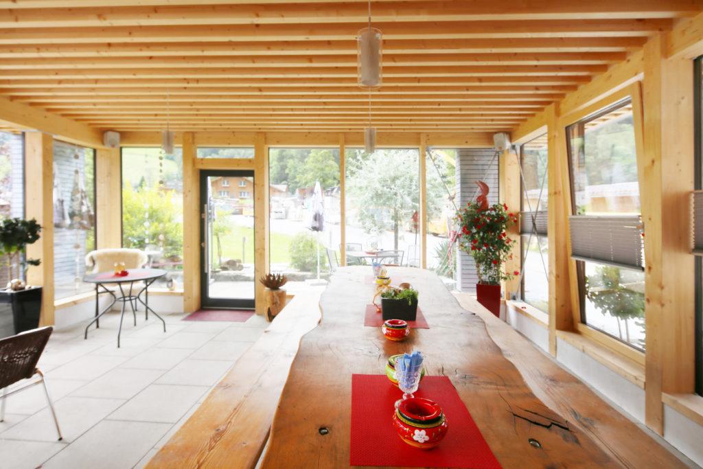 Anbau Restaurant Churfirsten Holzbau