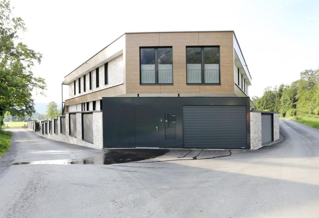 Architektur Einfamilienhaus Aussenansicht