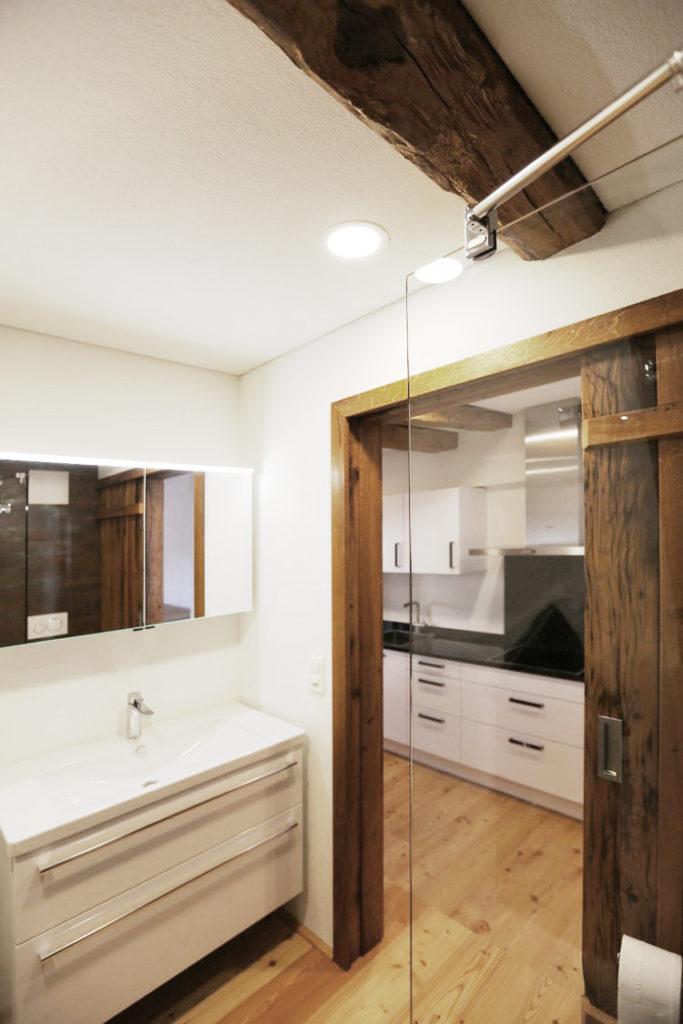 Badezimmer Badmoebel Duschwand
