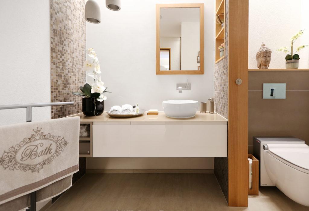 Badezimmer Badmoebel Span Beschichtet Hochglanz