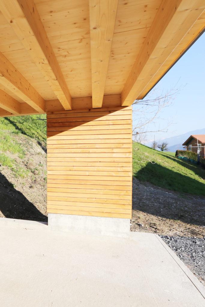 Carport Holzbau Flachdach