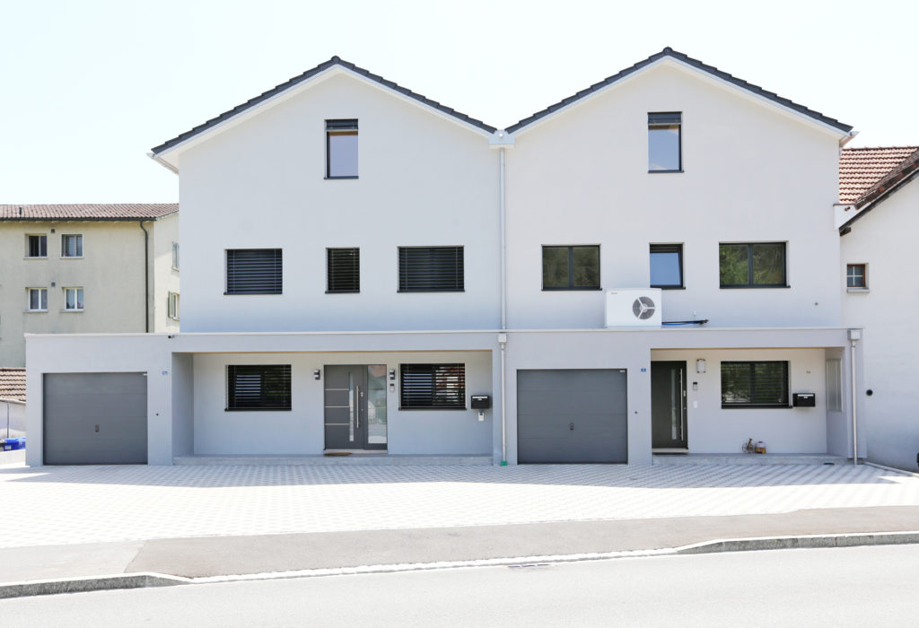 Doppeleinfamilienhaus Aussenansicht