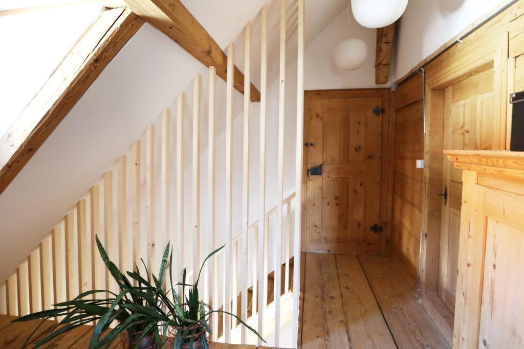 Treppengelaender Holz