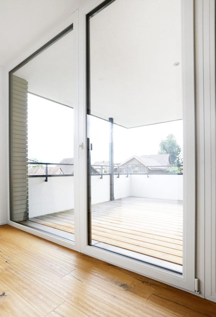 Kunststoff Aluminium Fenster Parkett Eiche