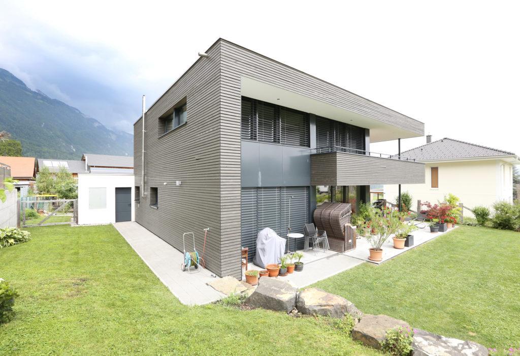 Neubau Architektur Holzbau Holzfassade Tanne