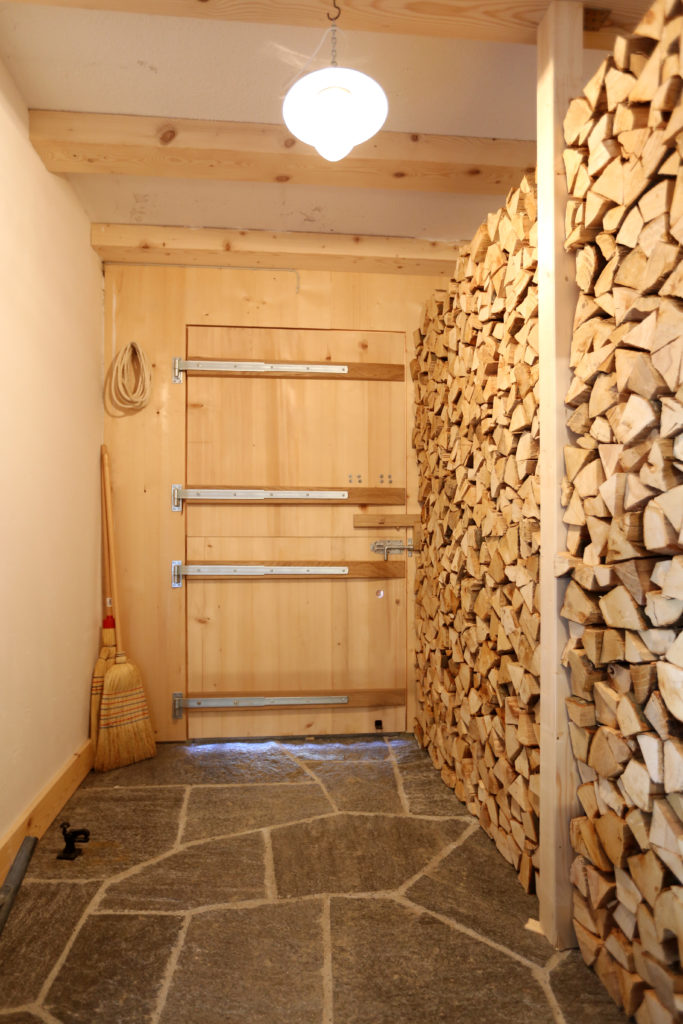 Umbau Efh Eingangsbereich Holztuere