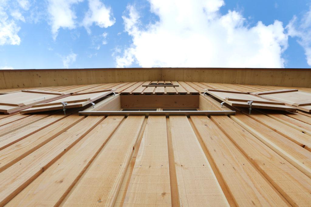 Umbau Ferienhaus Bergmondholz Holzfassade