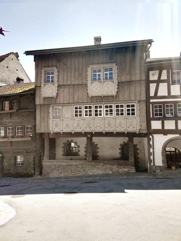 Umbau Holzhaus Aussenansicht