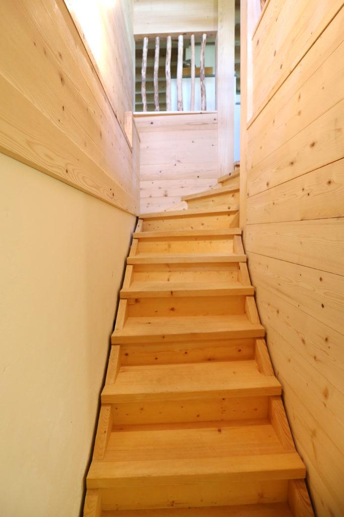 Umbau Wangentreppe Holz