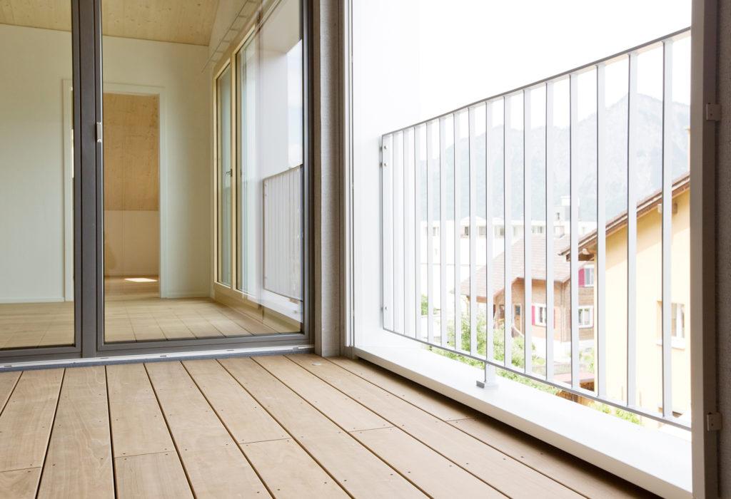 Balkon Terrassenboden Holz
