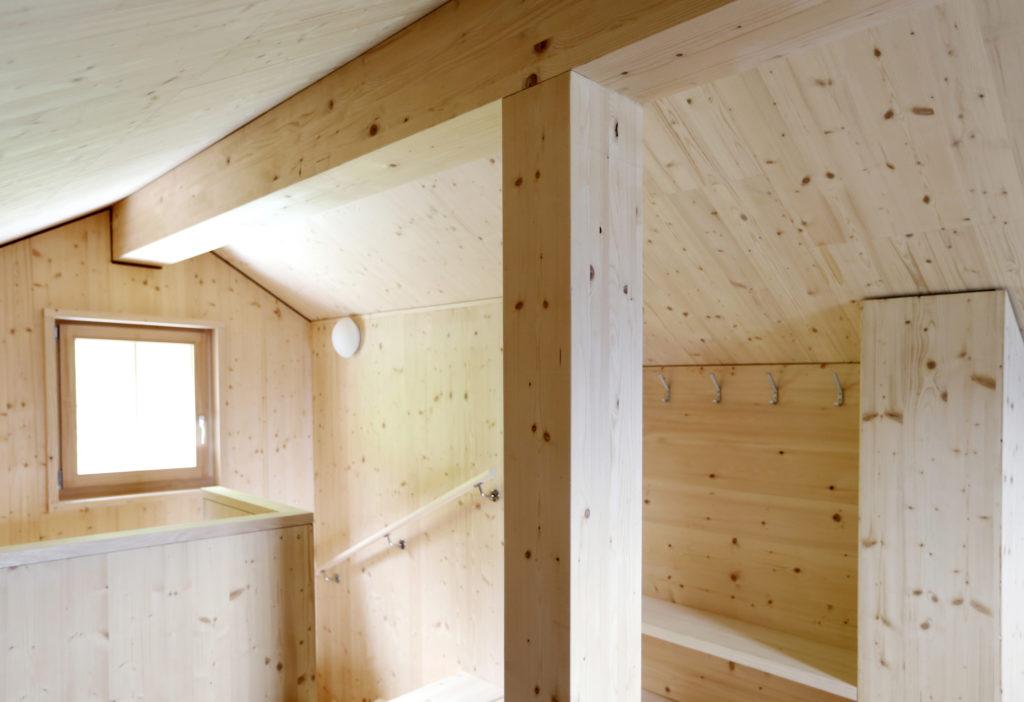 Holzbau Dachgeschoss