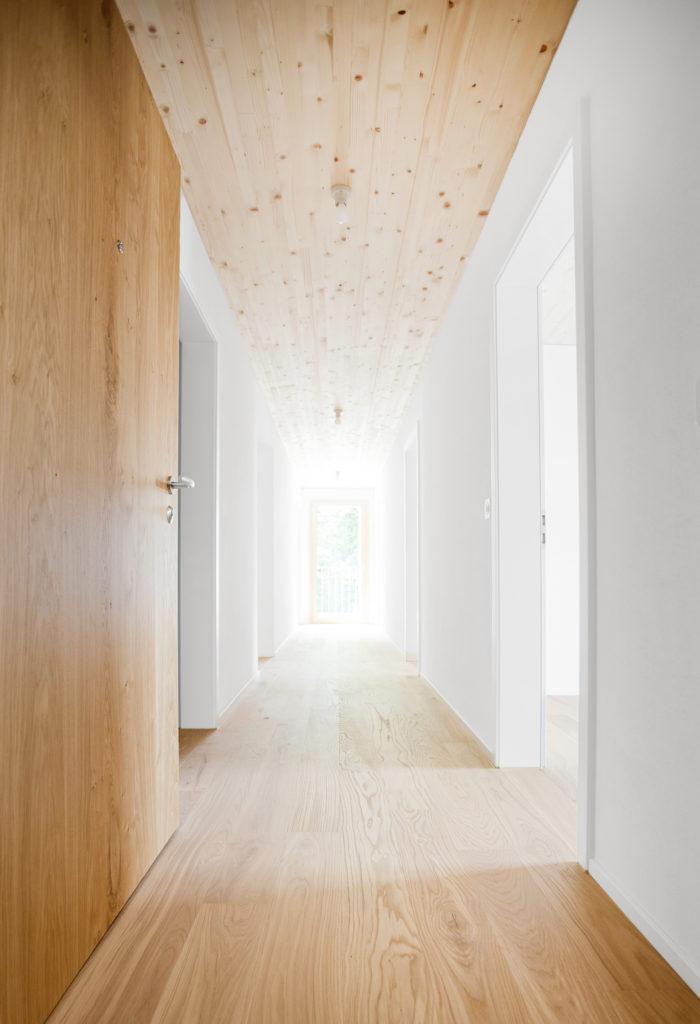 Holzbau Holzdecke