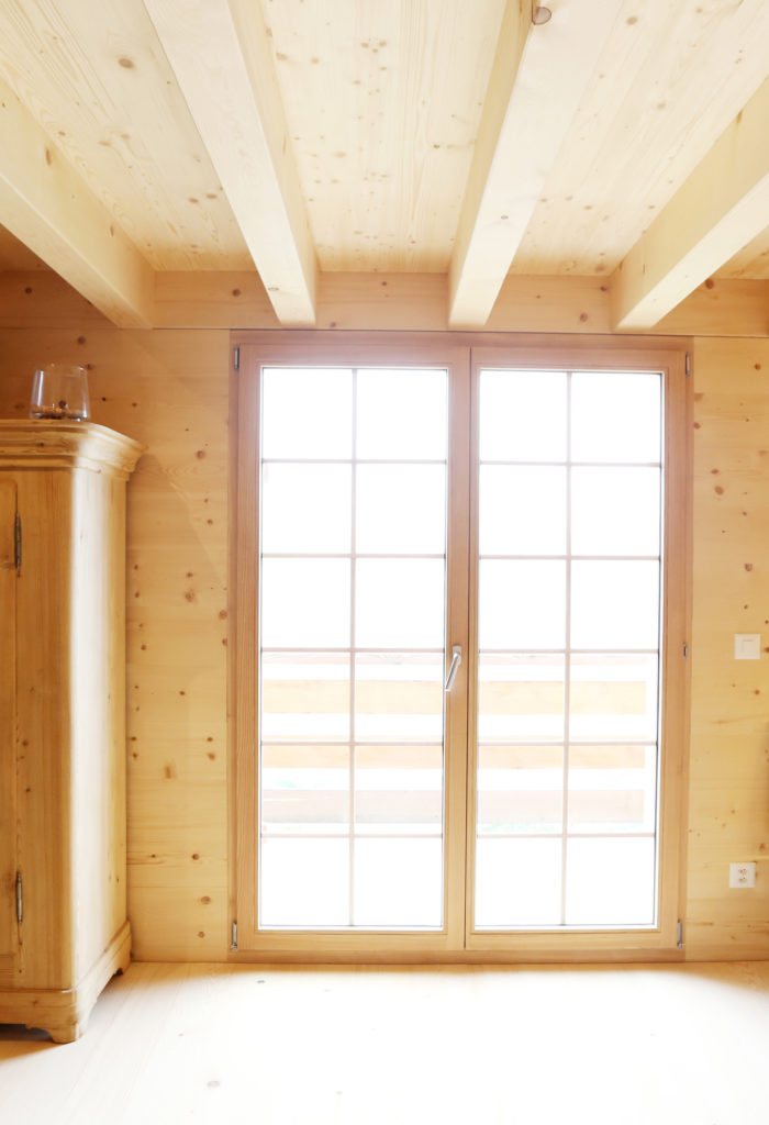 Holzbau Holzfenster
