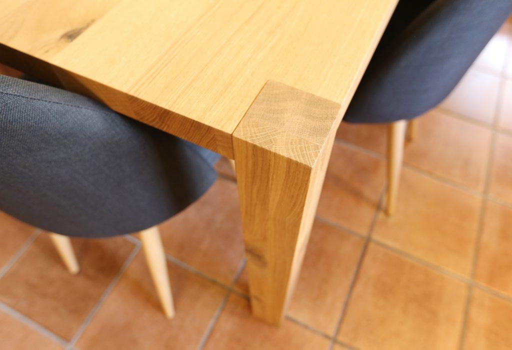 Tisch Buche Massiv Natur Lackiert