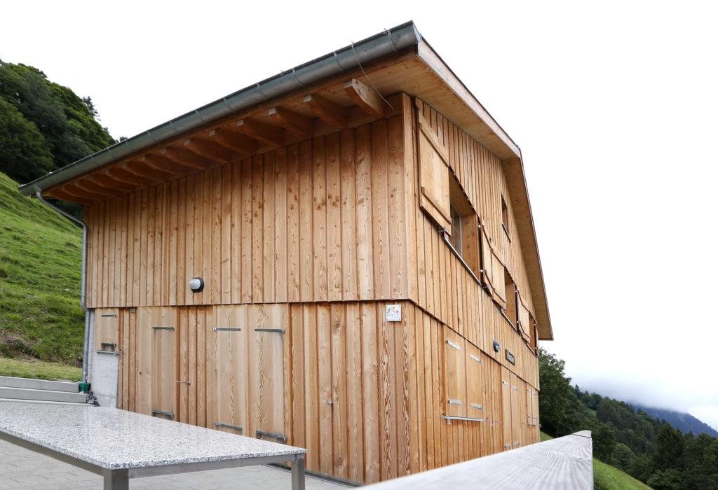 Umbau Ferienhaus Bergmondholz Steildach