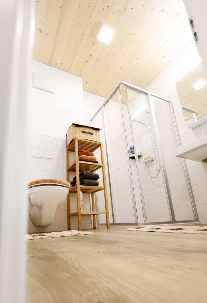 Holzbau Badezimmer