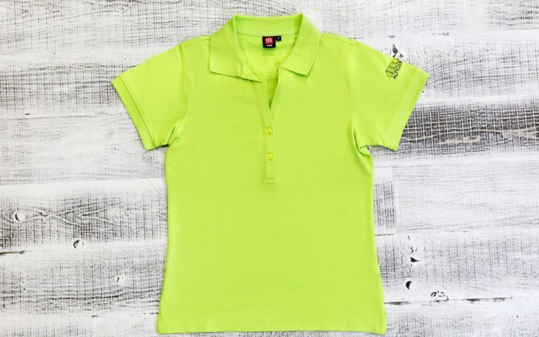 Polo Shirt Damen Gruen Alpiger Holzbau