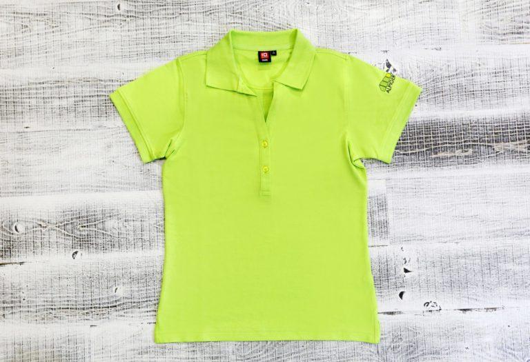 Polo Shirt Damen Gruen Alpiger Holzbau