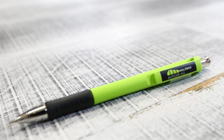 Stabilo Kugelschreiber Gruen