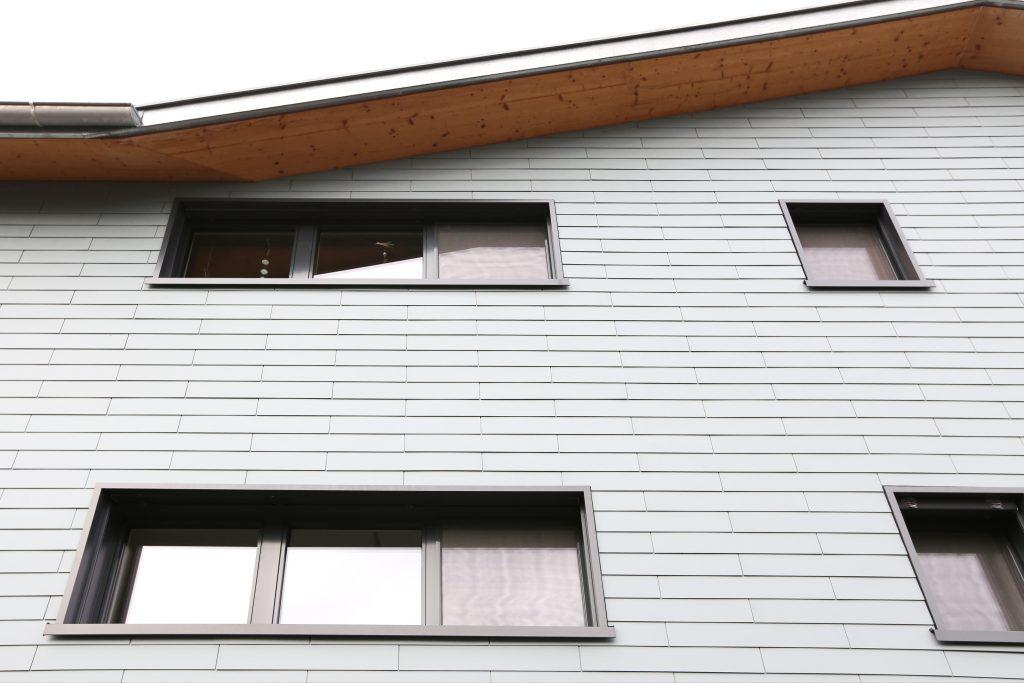Neubau Defh Holzbau Eternitfassade