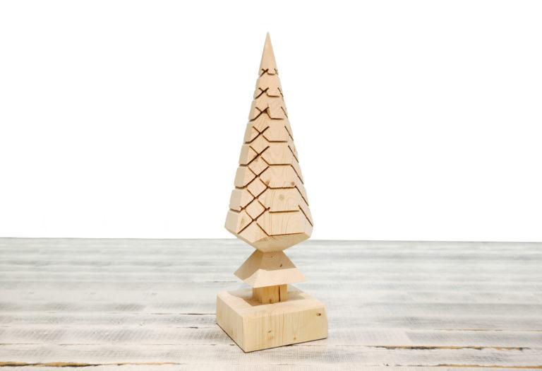 Weihnachtsbaum Holz Deko