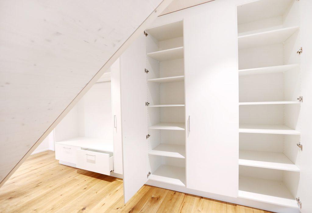 Neubau Einfamilienhaus Garderobe Span Beschichtet