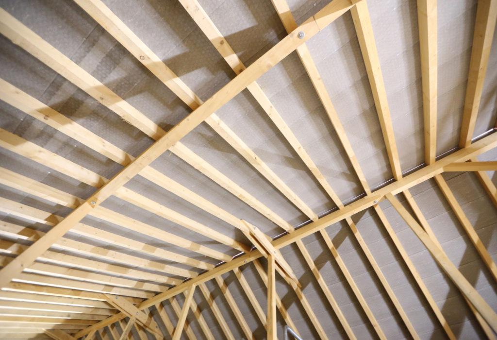 Neubau Betriebsgebaeude Dachgeschoss Innenansicht