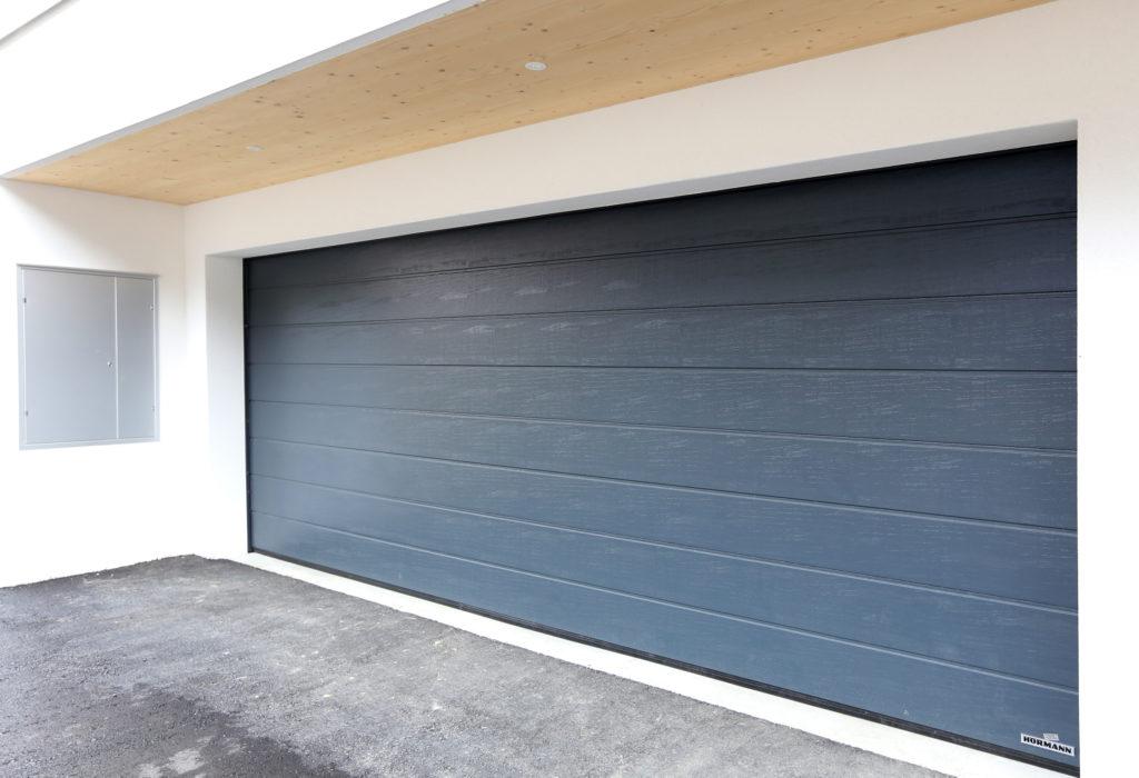 Neubau Einfamilienhaus Holzbau Garage